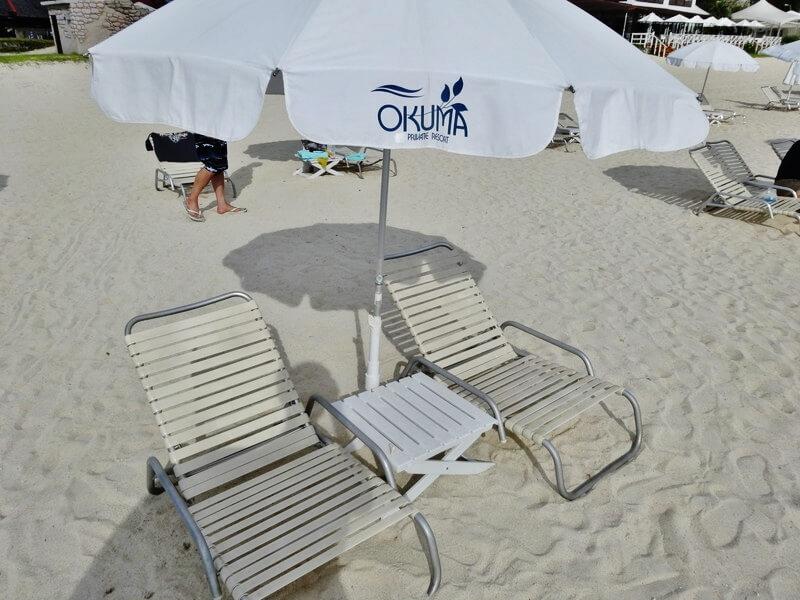 オクマプライベートビーチ(パラソル)