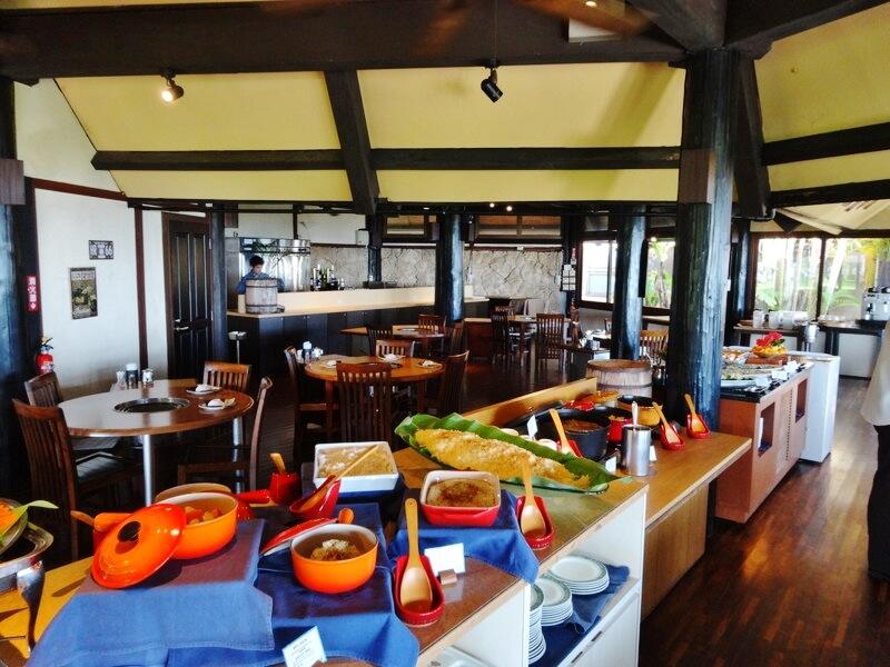 ビーチサイドレストラン‐店内