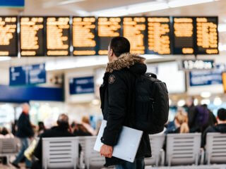 空港での当日変更