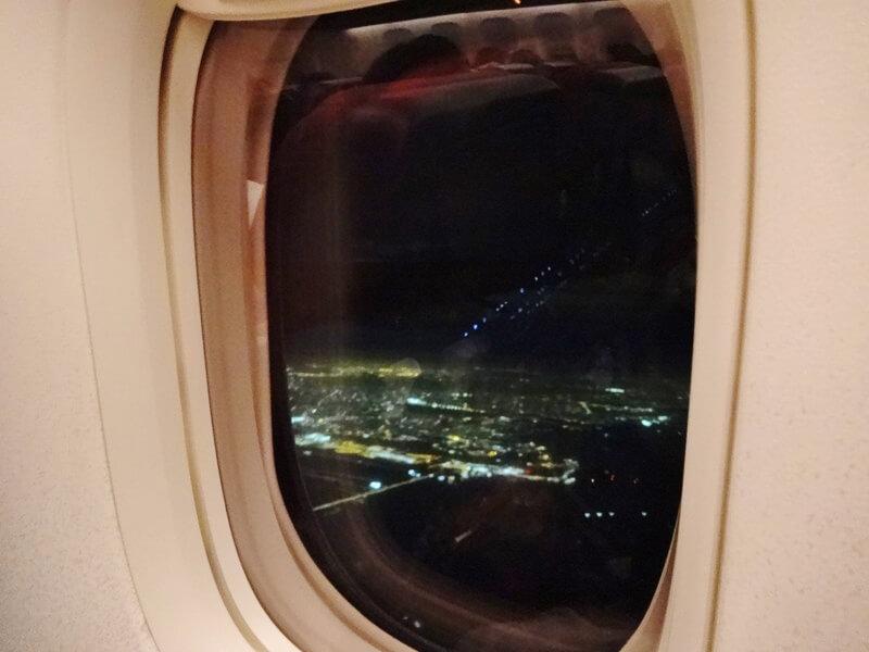 チャンギ国際空港上空