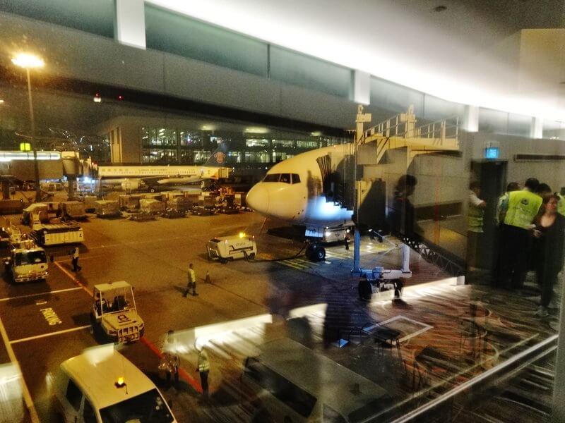 シンガポール到着