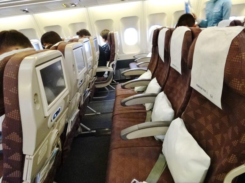 大韓航空‐エコノミークラス