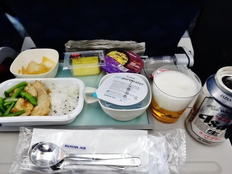 KE703便‐機内食